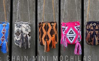 Edle Einzelstücke: Die Mochila Charity-Taschen
