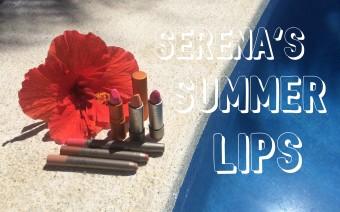 Sommer Trend - leuchtende Lippenfarben